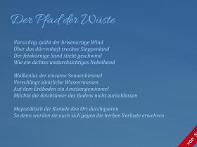 Sandra Holsten - Der Pfad der Wüste